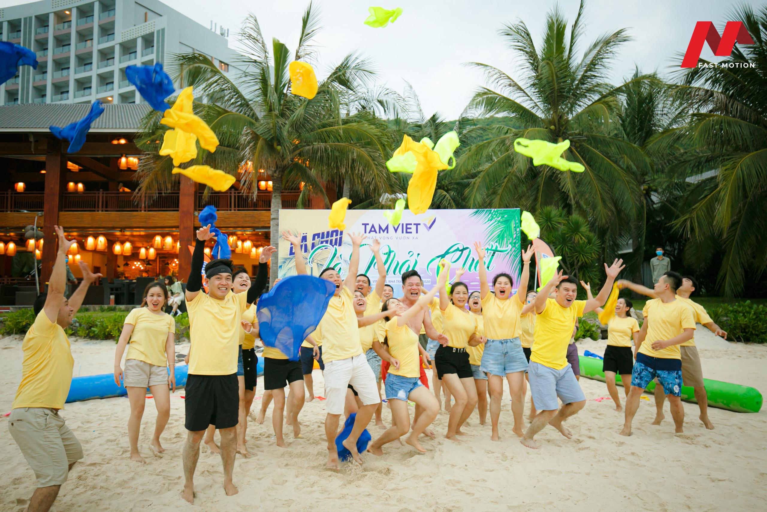 Quay phim teambuilding Nha Trang