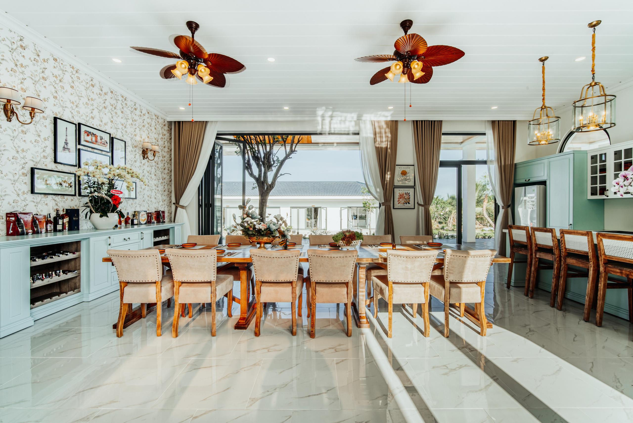 ảnh kiến trúc nội thất - phòng ăn