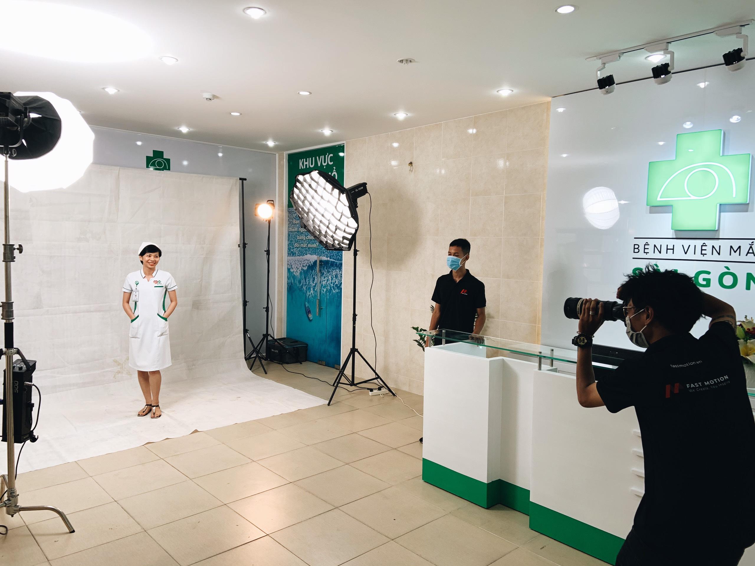 fastmotion chụp ảnh profile doanh nghiệp