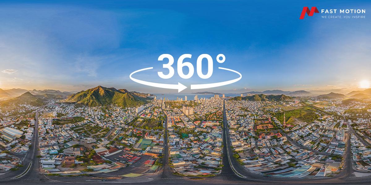 VR Tour 360 Fast Motion